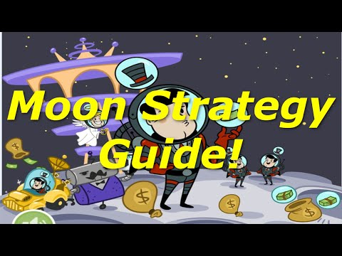 [AdVenture Capitalist] Gameplay - Moon Strategy Guide! Fastest Way to Make Moon Money!