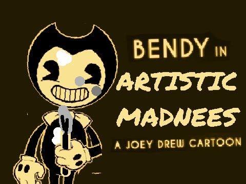 "Bendy in ""Artistic Madness - A Joey Drew Cartoon"