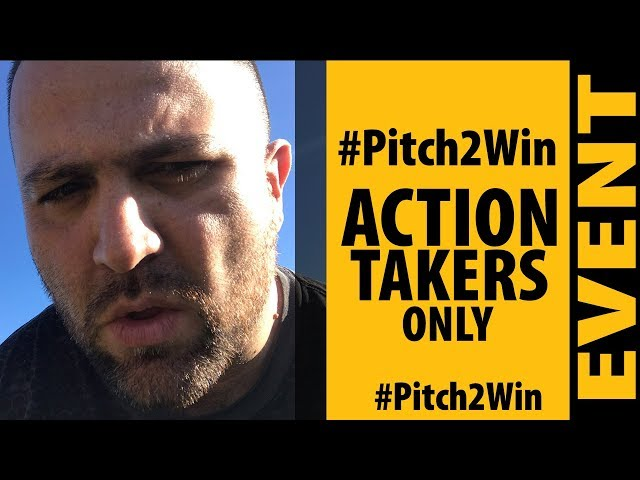 #Pitch2Win FREE Workshop