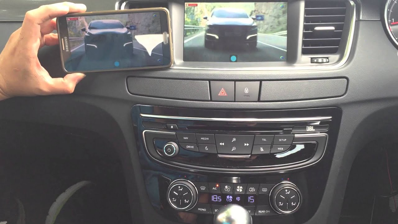 peugeot 508 new install mirror link and dvd player youtube. Black Bedroom Furniture Sets. Home Design Ideas