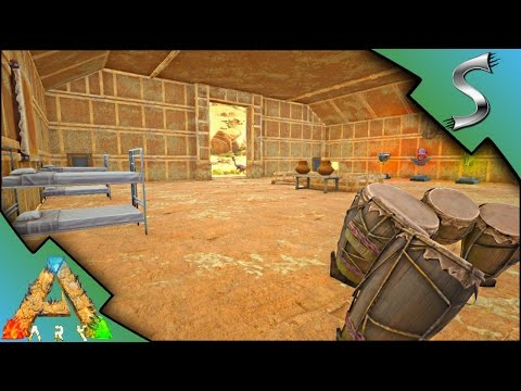 ADOBE HOUSE INTERIOR DECORATING! MIRRORS IN ARK!   Ark: Scorched Earth [Gameplay E19]