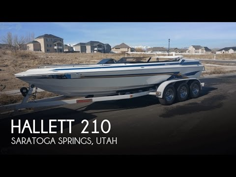 [SOLD] Used 2003 Hallett 210 in Saratoga Springs, Utah