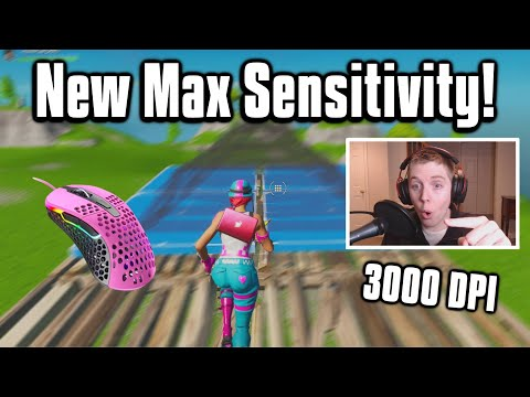 Reacting To The HIGHEST Sensitivity Player In The World! - Fortnite Battle Royale