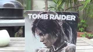 unboxing steelbook tomb raider ita