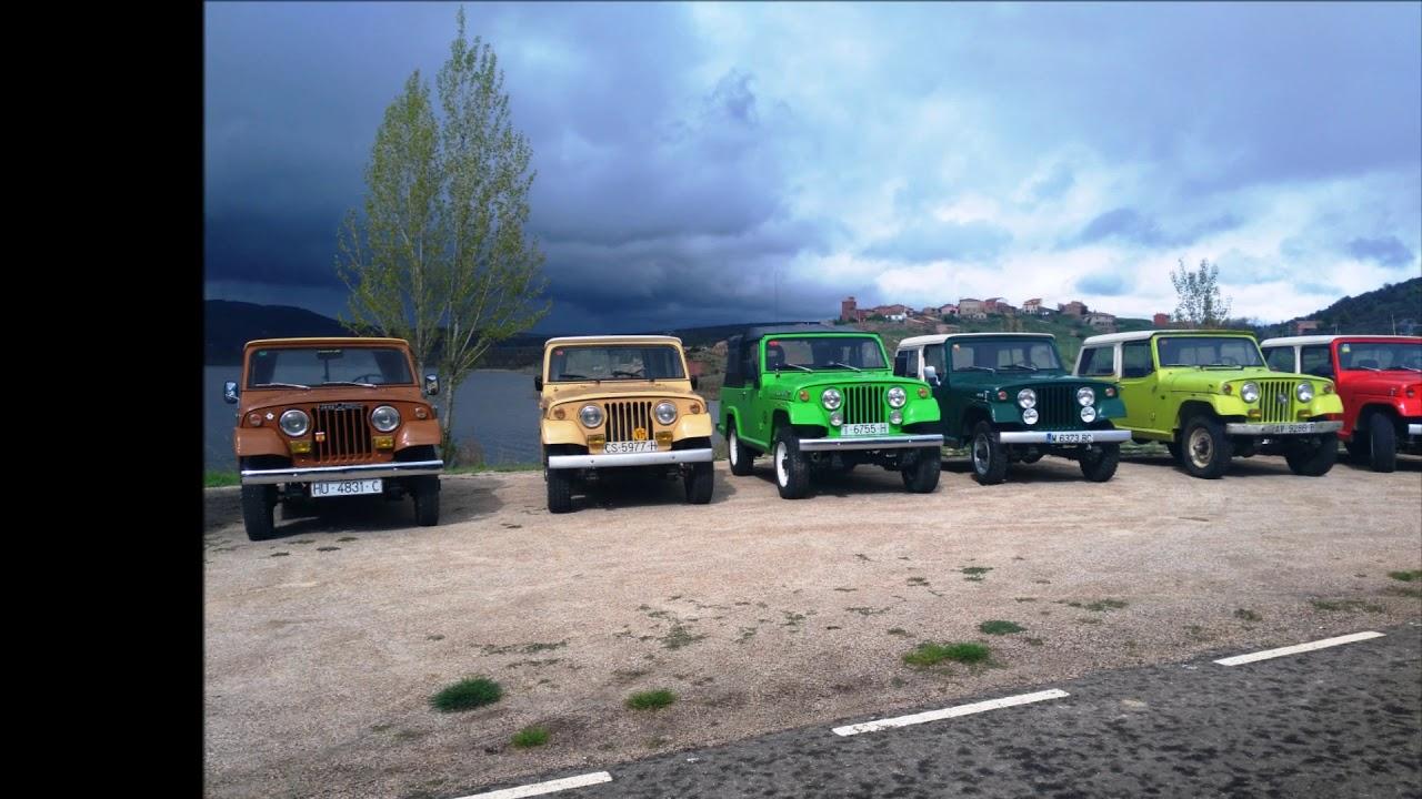 xiii concentracion club jeep comando espaÑa - palmaces de jadraque
