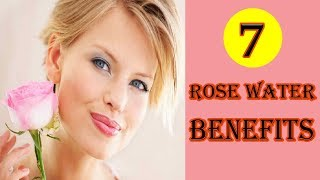 7 Rose Water Benefits | From Antioxidants To Anti Aging | Rose Water for Skin