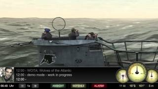 """WOTA: Wolves of the Atlantic - U 96"" for iOS (iPhone / iPad) U-Boat Simulation - WIP Demo"