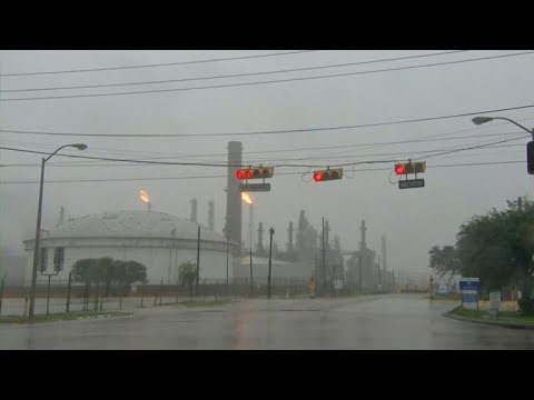 Harvey has damaged a number of refineries and chemical plants