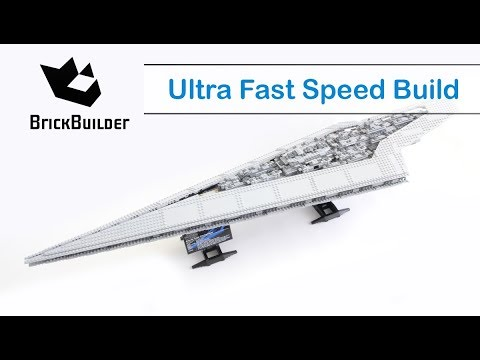 Ultra Fast Speed Build Lego UCS 10221 Super Star Destroyer