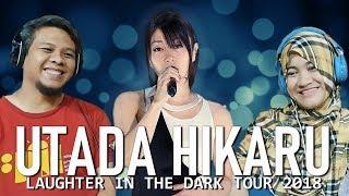 IR1F React to Utada Hikaru Laughter in the Dark tour (First Love, Sakura Drops, Hikari) - Indonesia