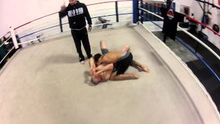 No Gi Side Control to Jason Statham Choke - The Compound MMA