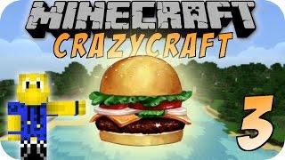 Minecraft CHAOS CRAFT #03 - Einen Krabbenburger zum mitnehmen bitte!