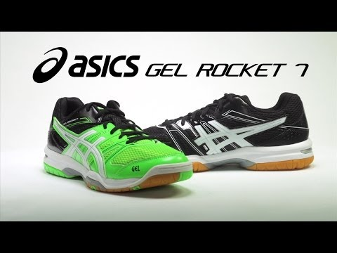 ASICS GEL Rocket 7 Shoe Review