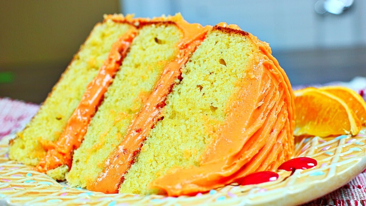 Amazing Orange Cake Recipe Rich And Moist Orange Cake Youtube