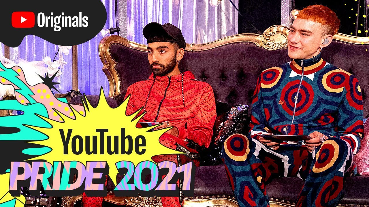 Munroe Bergdorf, MNEK, Olly Alexander & Mawaan Rizwan Play 'It's A Sin.' | YouTube Pride 2021