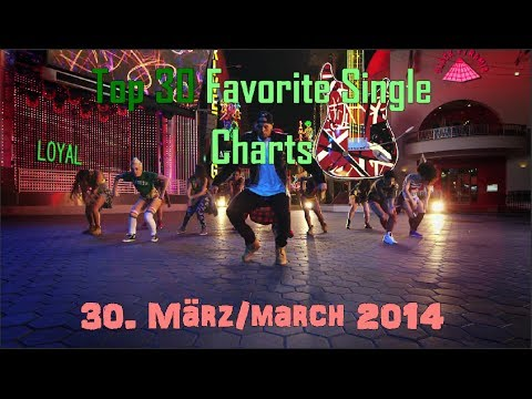 Top 30 Favorite Single Charts April 2014 - 30. März 2014