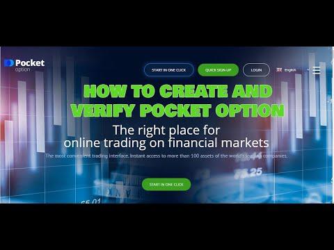 How To Register And Verify Pocket Option Account