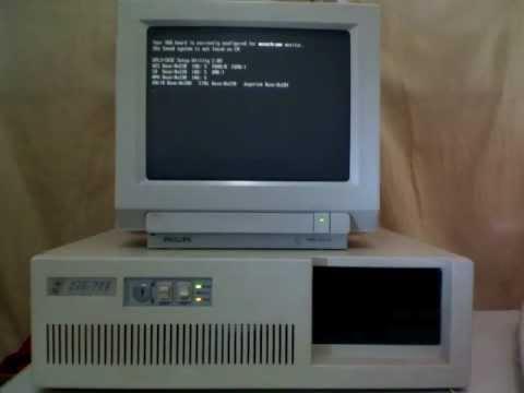 PC 286 20Mhz - 1Mb RAM - VGA Mono