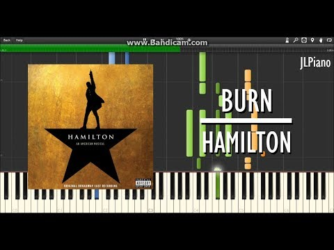 Burn (From Hamilton) - Phillipa Soo (Synthesia Piano & Vocal Cover) *SHEET MUSIC*
