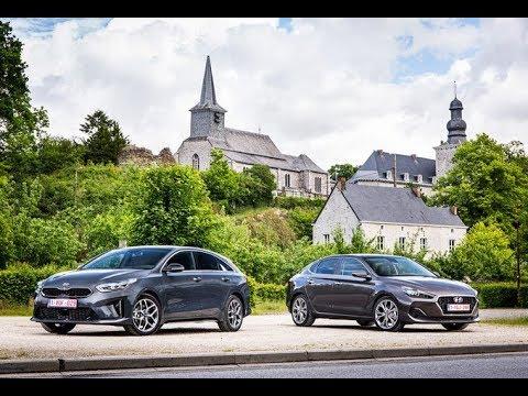 2019 Kia Proceed Vs 2019 Hyundai I30 Fastback