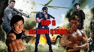 TOP 5 ACTION STARS