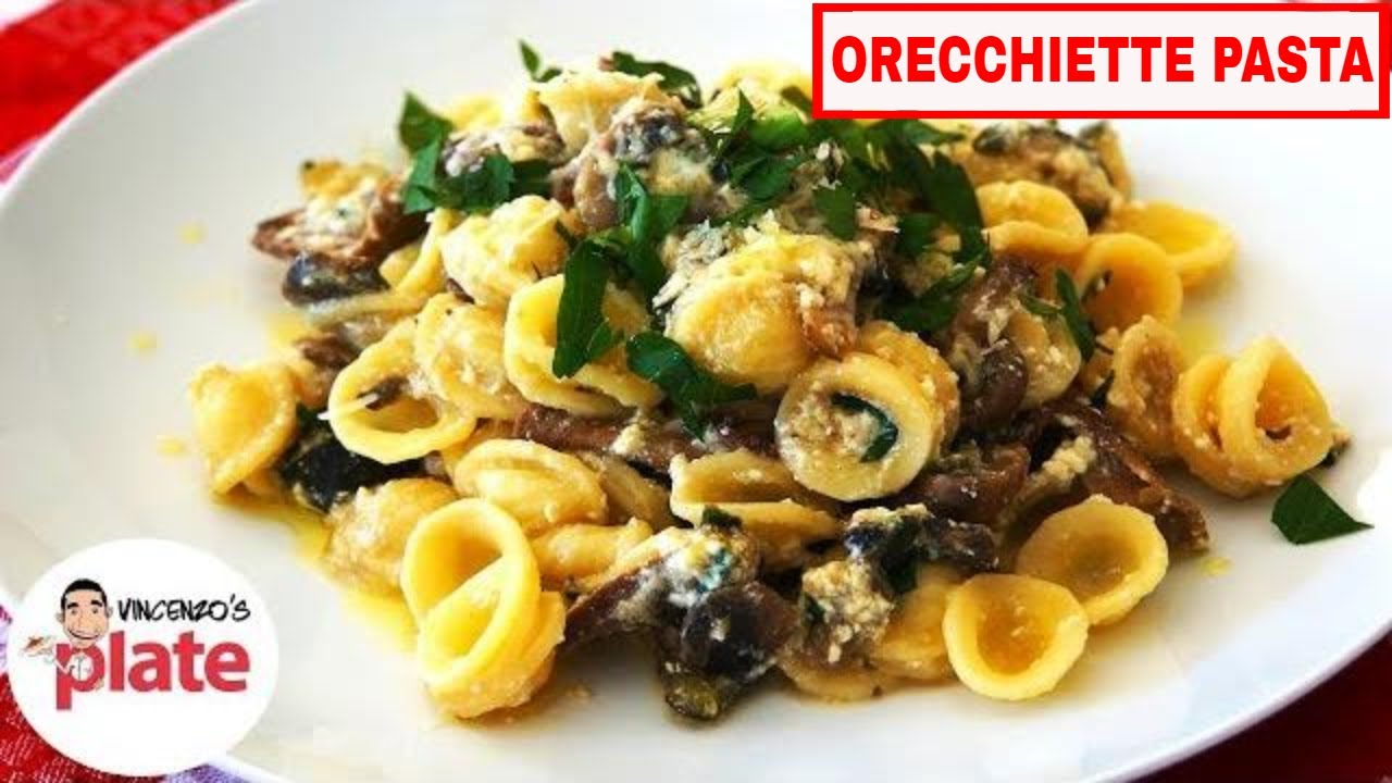 Orecchiette pasta recipe vegetarian pasta italian recipes youtube forumfinder Choice Image