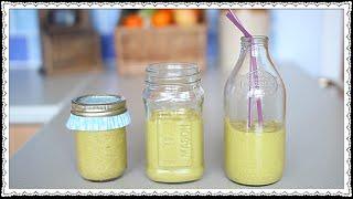 Diy: Mango & Avocado Smoothie Recipe | Haley & Bronwen