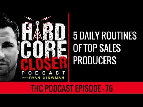 5 Daily Routines Of The Top Sales Performers