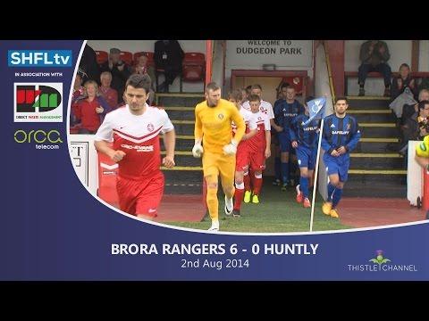 Brora Rangers v Huntly FC