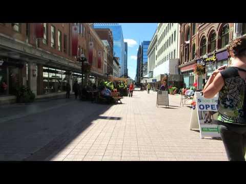 Downtown Ottawa Sparks Street