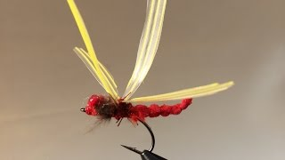 How To Tie a Red Dragonfly - Fly Fishing(3)Cách Buộc Con Chuồn Chuồn Ớt .
