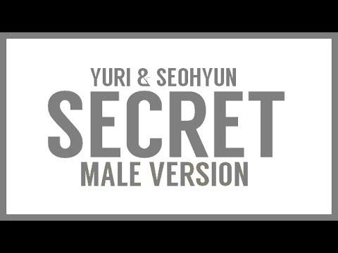 [MALE VERSION] Yuri & Seohyun - Secret