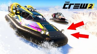 КРАШ-ТЕСТ КАТЕРОВ АМФИБИЙ НА ПОДУШКЕ! - THE CREW 2 GATOR RUSH