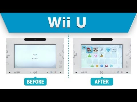 Nintendo video shows speed improvements of April Wii U software update