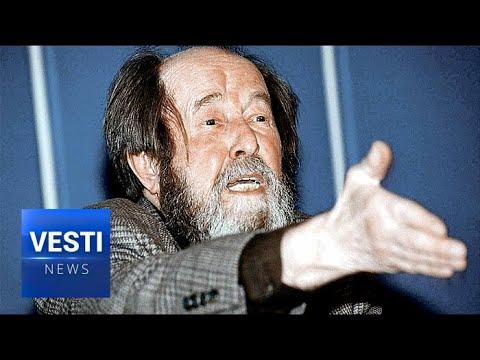 Prophetic! Solzhenitsyn's Famous Harvard Speech Predicted Complete Collapse of American Society