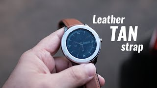 Pebble Zen Smartwatch review - with Leather Tan Strap