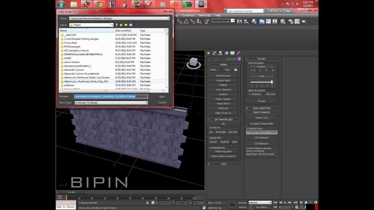 How to: Exporting Sketchup Models for Sim City 4