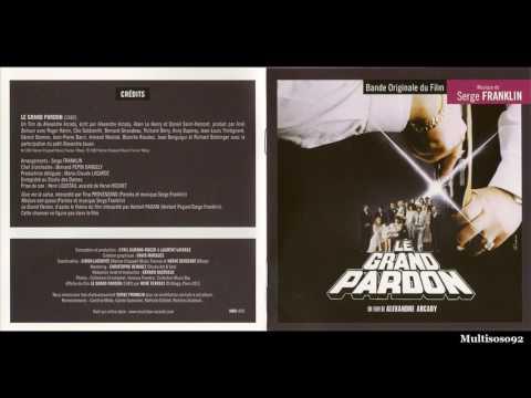 Serge Franklin - Le Grand Pardon - Thème d'amour (piano solo)