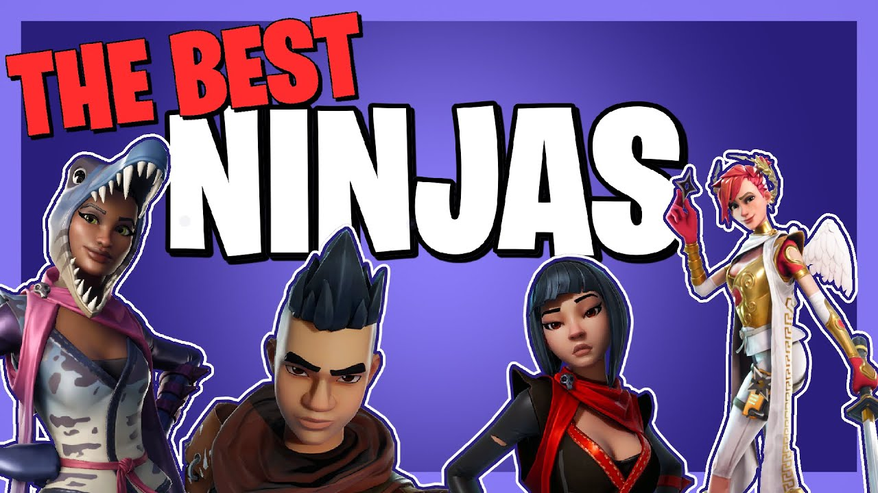 The BEST NINJAS in Fortnite Save the World! - YouTube