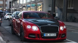 Eljero Elia Bentley Mansory Continental GT V8 acceleration! HD 720p