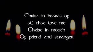 Hymn Of St Patrick- Lyric Video