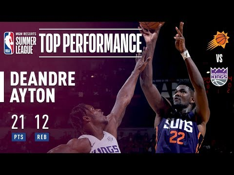 Deandre Ayton Puts Up 21pts & 12rebs In The 2018 MGM Resorts Summer League