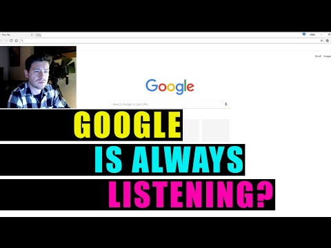 Is Google always listening: Live Test