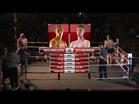 Lee Smith Memorial Show: Reece McAllister vs Alex MacGregor Full Fight