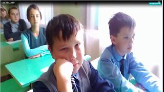 Петропавловская школа №1.Фрагмент урока музыки