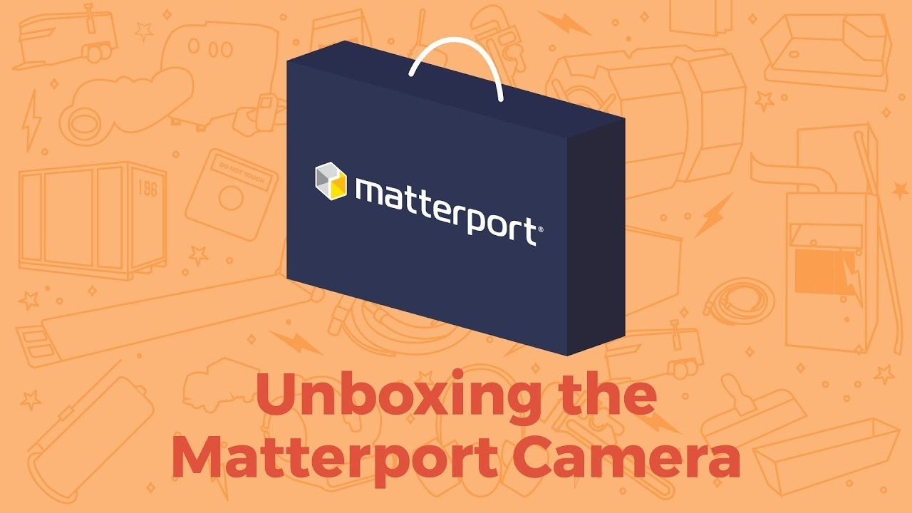 Unboxing the Matterport PRO2 3D Camera