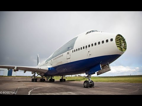 Abandoned Boeing 747 Airplane - Dumped Disused Plane - Urban Explore - Graveyard Aviation Salvage