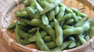 Edamame Recipe - Japanese Cooking 101