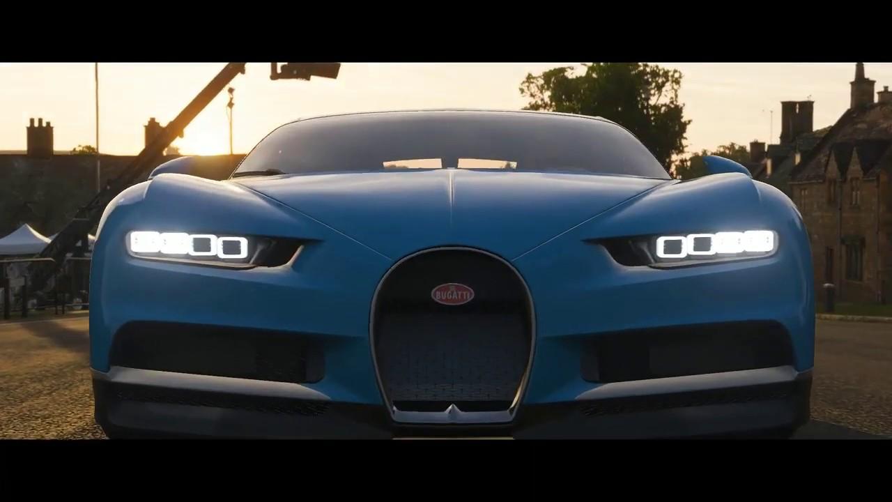 Forza Horizon 4 Bugatti Chiron / Ferrari Testarossa  Gameplay