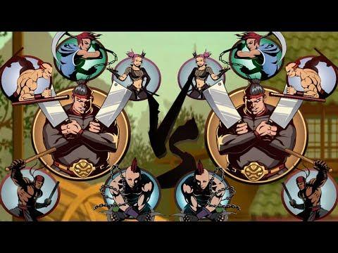 Shadow Fight 2, Butcher+BodyGuard Vs Butcher+BodyGuard